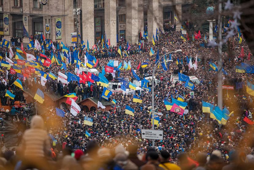 Znalezione obrazy dla zapytania euromajdan