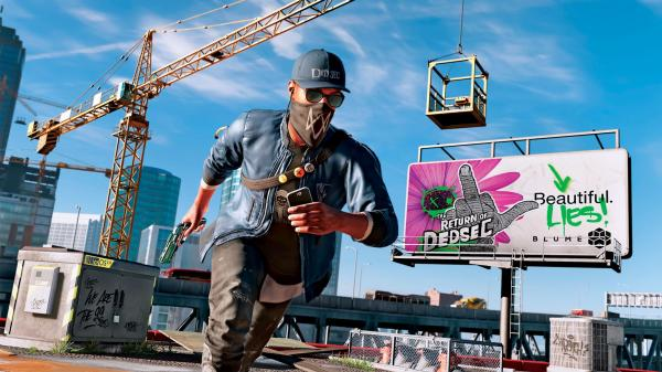 "Screen z gry ""Watch Dogs 2"""