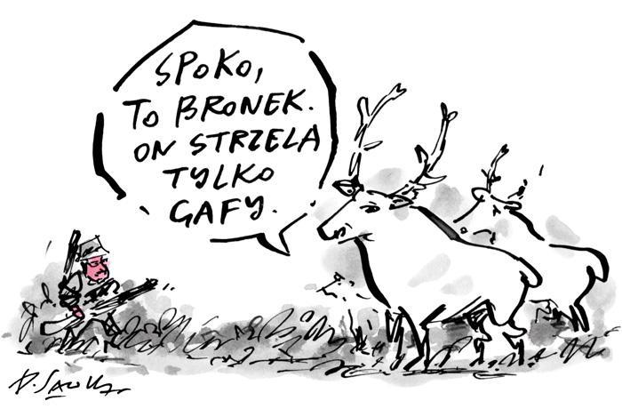 Sawka w Muzeum Karykatury - Wiadomości - WP.PL